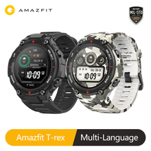 Global Version Amazfit T Rex Smart watch 20days Battery Life GPS 14 Sport Mode Waterproof Smartwatch For Android iOS