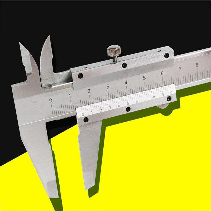Pied à coulisse mécanique 0-125/150mm en acier inoxydable échelle Laser pied à coulisse mesure micromètre Instrument de mesure