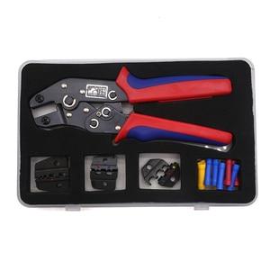 Image 4 - Обжимные плоскогубцы, набор многофункциональных обжимных штампов, инструменты для клемм Dupont, многофункциональный инструмент для электрического коннектора (подарок для клемм проводов)