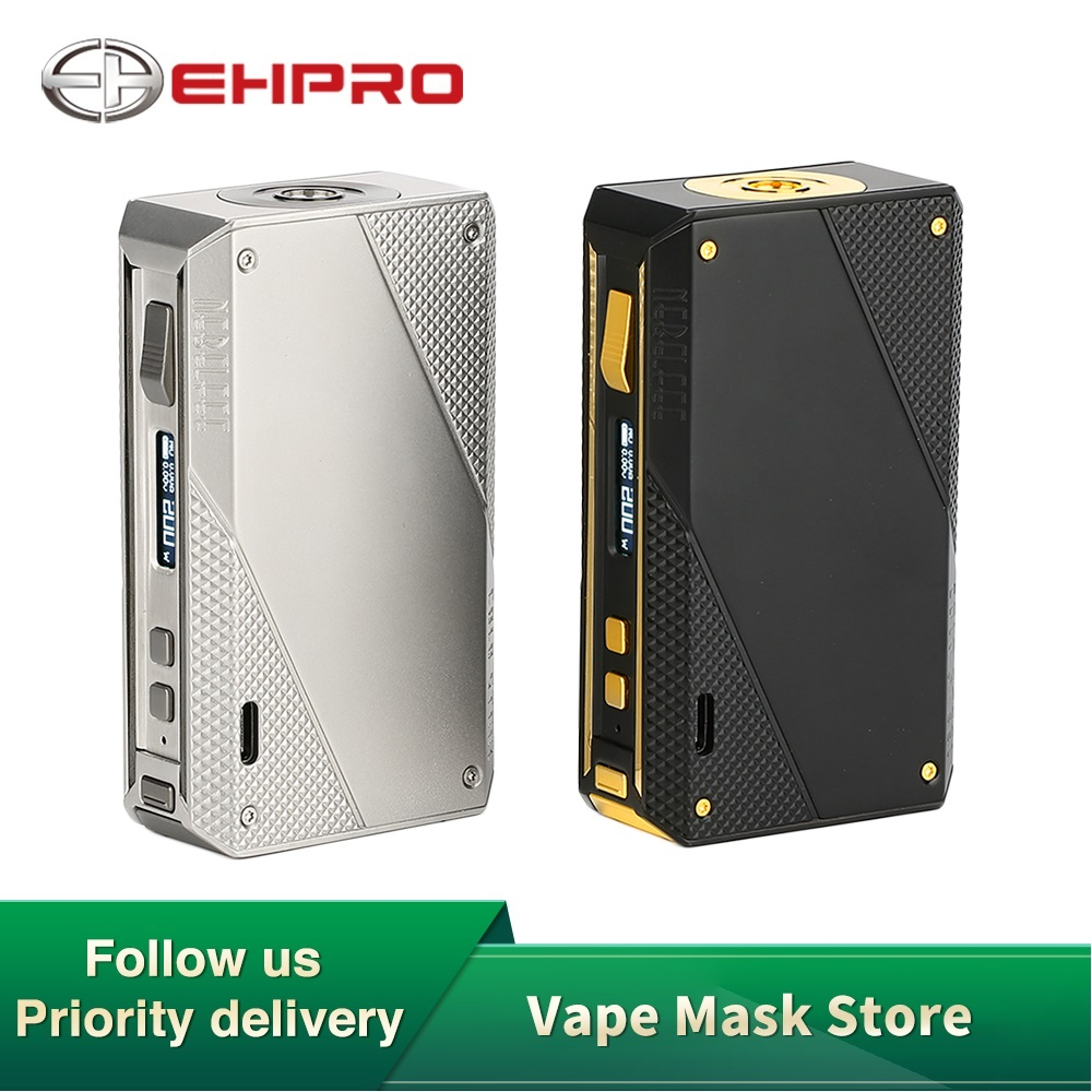 In Stock Original Ehpro Cold Steel 200 TC Box MOD With 200W Max Output & Stainless Steel Construction No Battery Vs Aegis Solo