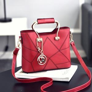 Image 4 - SDRUIAO askılı çanta kadınlar için 2020 bayanlar PU deri çantalar lüks kaliteli kadın omuz çantaları ünlü kadın tasarımcı çanta