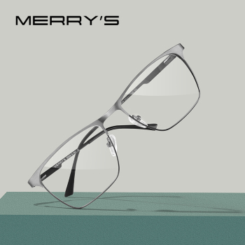 MERRYS Titanium Alloy Optics Glasses