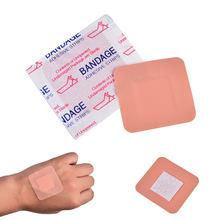 100 sztuk pudło pierwszej pomocy plaster oddychające bandaż pierwszej pomocy wodoodporna bandaż samoprzylepny do podróży Camping hurtownie cheap CN (pochodzenie) Other Wound stickers Zwolnić Ból Od Choroby Szelki i obsługuje
