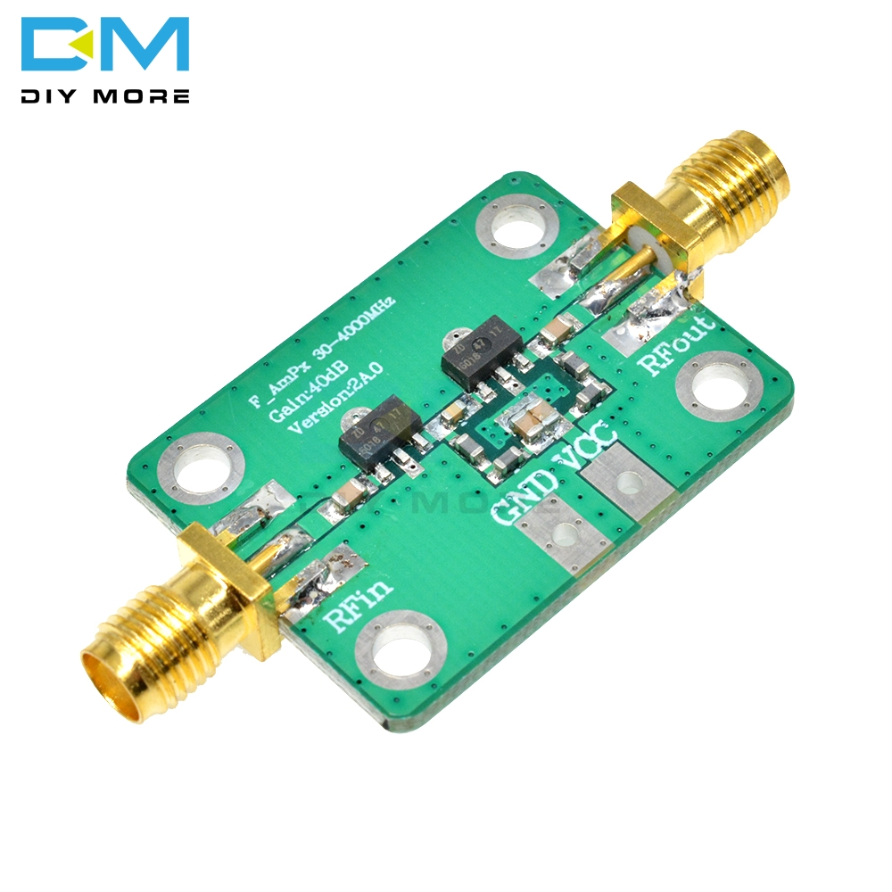 30-4000MHz 40dB Gain Broadband High Frequency RF Amplifier Module For FM HF VHF//