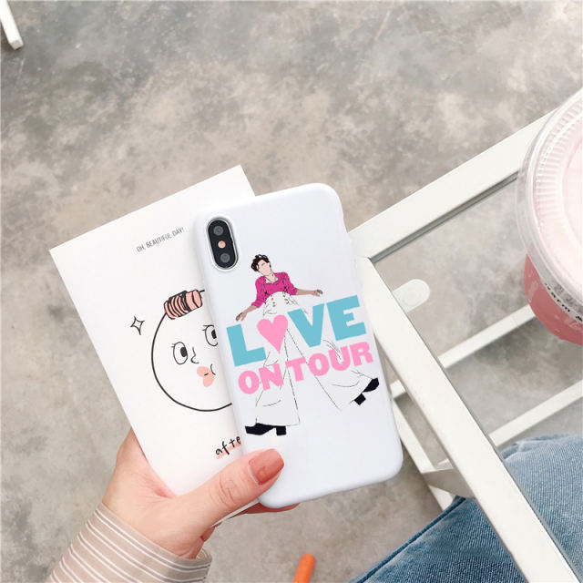 HARRY STYLES FINE LINE THEMED IPHONE CASE (19 VARIAN)