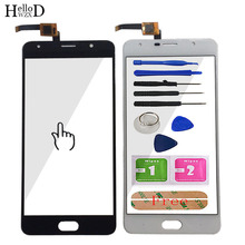 Tela sensível ao toque de vidro frontal para energia pro 3 touch screen digitador painel sensor 5.5 mobile adhesive ferramentas móveis adesivo