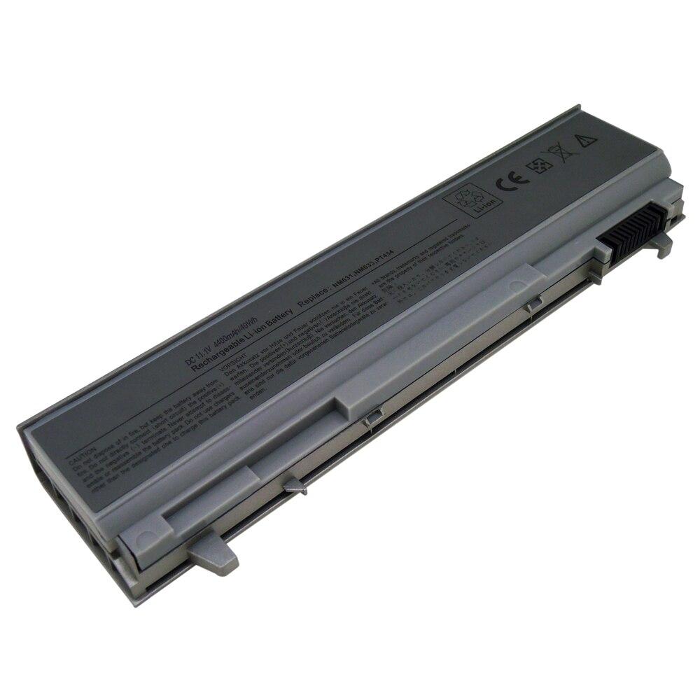 Аккумулятор для ноутбука Dell Latitude E6410 E6500 E6510 KY477 PT434 W1193 U844G M2400 M4400 M6400 FU268