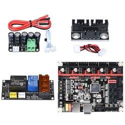BIGTREETECH SKR V1.3/PRO комплект платы управления + wifi + мини UPS V2.0 + мотор параллельный модуль + реле для Ender 3 MINI E3 части 3d принтера