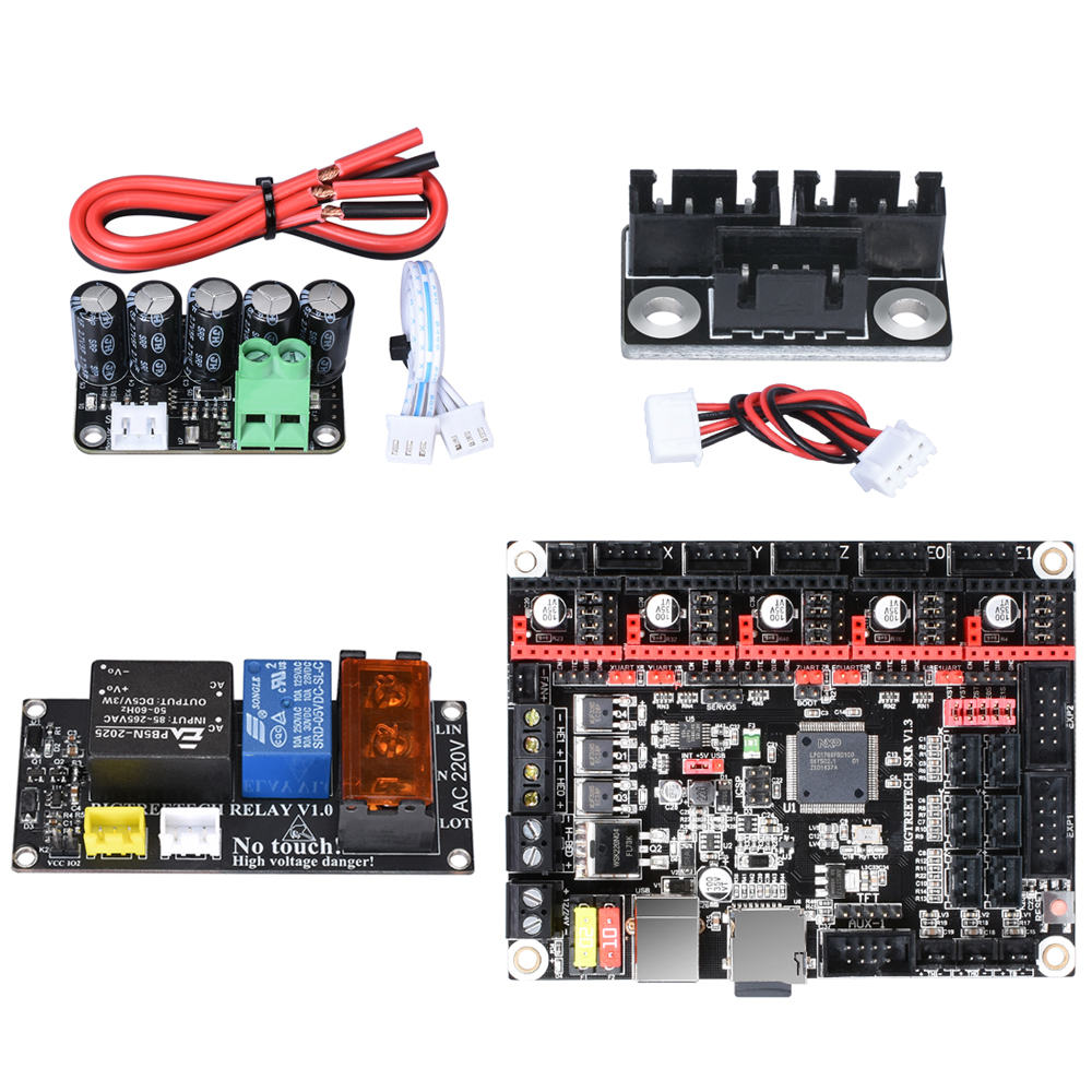 BIGTREETECH SKR V1.3/PRO Control Board Kit+WIFI+MINI UPS V2.0+Motor Parallel Module+Relay For Ender 3 MINI E3 3D Printer Parts
