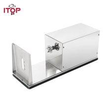 Электрический спиральный слайсер для картофеля itop из нержавеющей