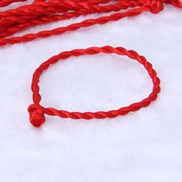 10PCS Red String Kabbalah Bracelets Ethnic Red Rope Lanyard Accessories Jewelry U50C