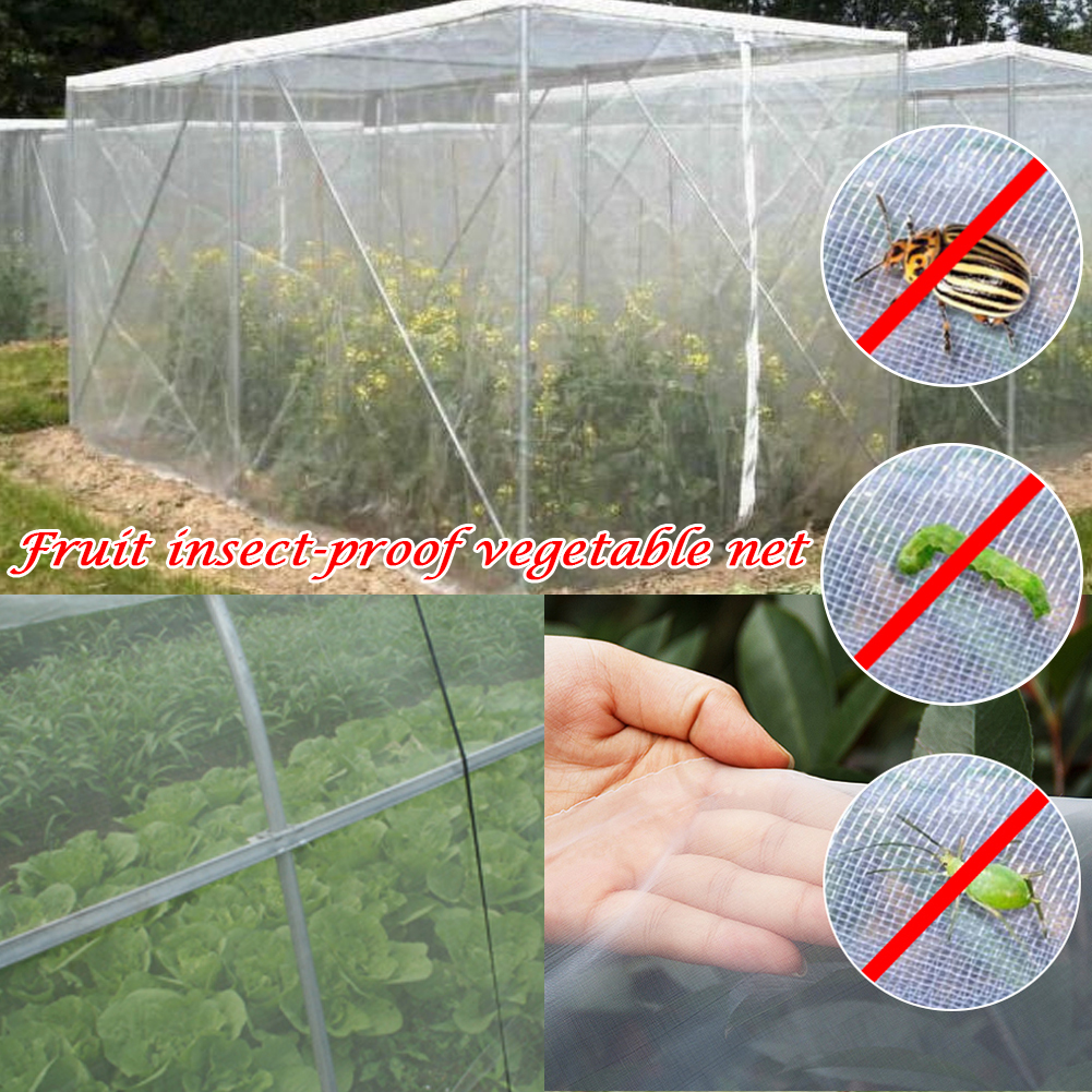 40 Meshes Anti Insect Bird Nets Farm Vegetable Pest Control Screen Garden Plants