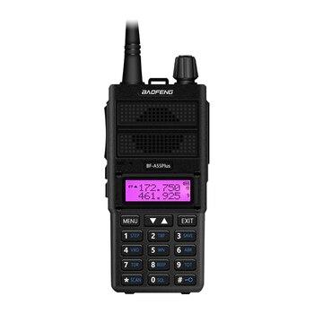 цена на New Baofeng BF-A55 Plus Walkie Talkie Dual Band VHF/UHF 136-174/400-520MHz 8W Transmit Power 128CH Hunting CB Ham Radio Scanner