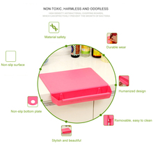 2 in 1 Creative Chopping Board Frosted Kitchen Cutting Board with Slot Cutting Vegetable Meat