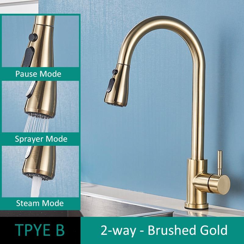 TYPE B Brush Gold