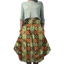 African print skirts fashion custom made women Ankara outfits wedding/activity wear female groom skirts