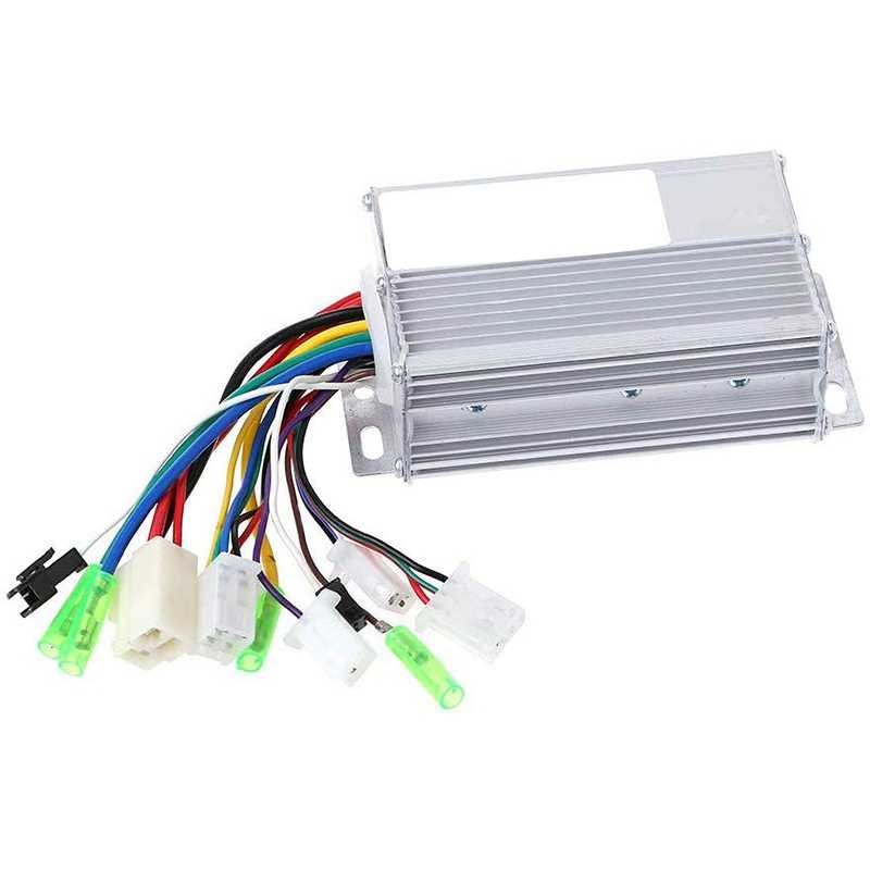 Brushless Motor Controller 36V/48V 350W Electric Bicycle E-Bike Scooter