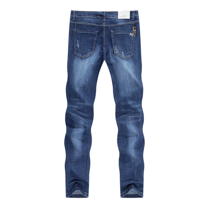 KSTUN Jeans Men Slim Fit Blue Summer Thin Ripped Jeans Men Streetwear Hip Hop Denim Pants Men's Clothes Wholesale Dropshipping 12