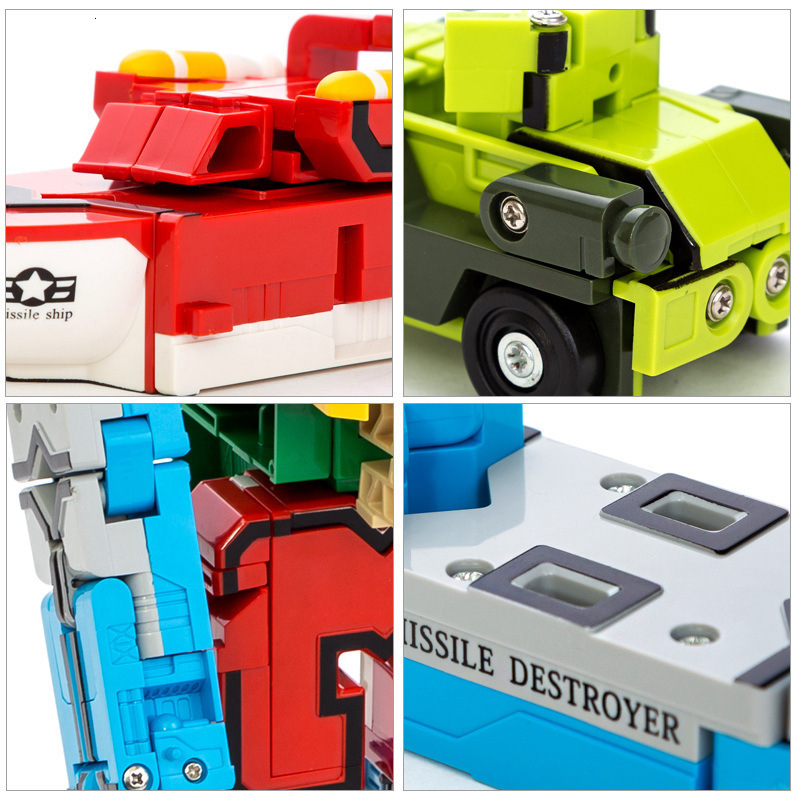 Creative Transformation Number & Letters Robots