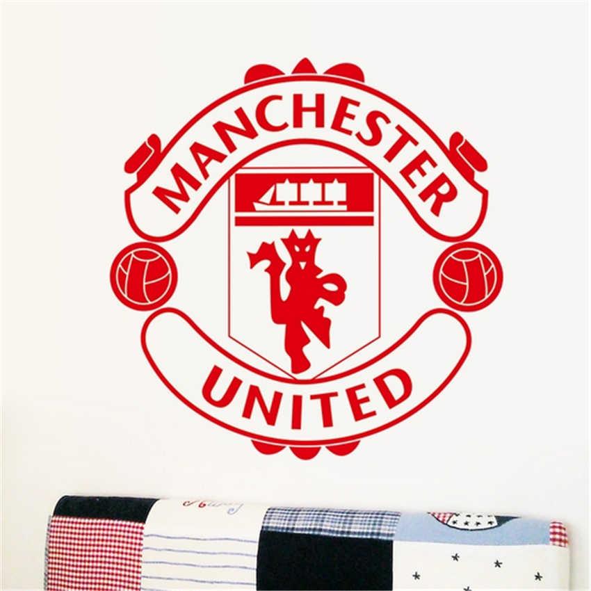 MANCHESTER Football club logo symbol wand aufkleber für kinder zimmer schlafzimmer abnehmbare startseite decals vinyl kunst dekoration Zitat Wandbild