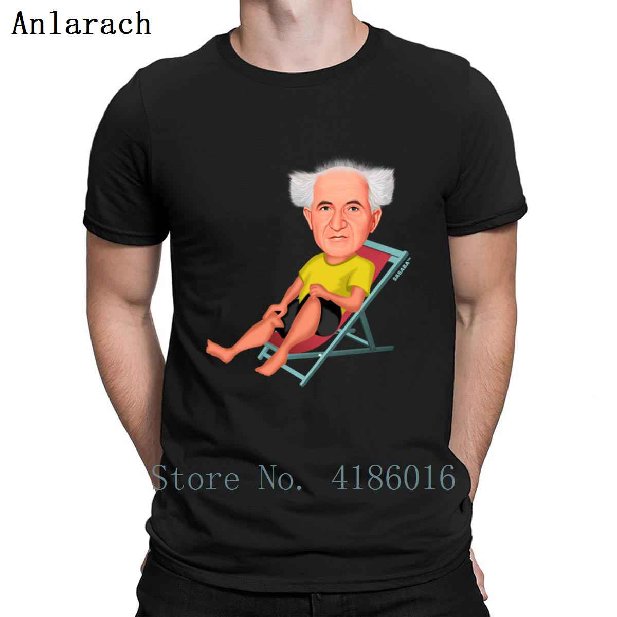 David Ben Gurion Israel First Prime Minister T Shirt Sunlight Cool Funny Casual Euro Size S-5xl Normal Designing Tee Shirt Shirt