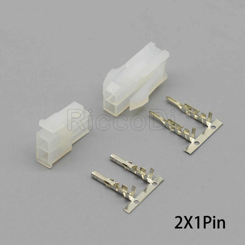 5-50Set 5557 5569 5559 2Pin Zweireihig Transparent Schwarz Molex 4,2 Pitch ATX Männlich Weiblich Stecker Stecker für Computer