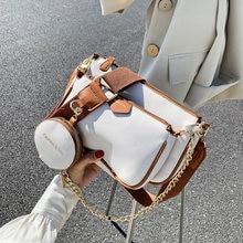Модные женские сумки на плечо с цепочками дизайнерские мессенджеры