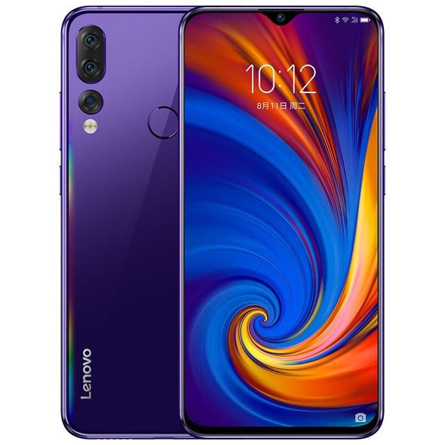 "Lenovo Z5S L78071 6GB 128GB 6.3 ""Smartphone 16MP 8MP 5MP fotocamera Snapdragon 710 Octa Core Global ROM Android cellulare 3300mAh"