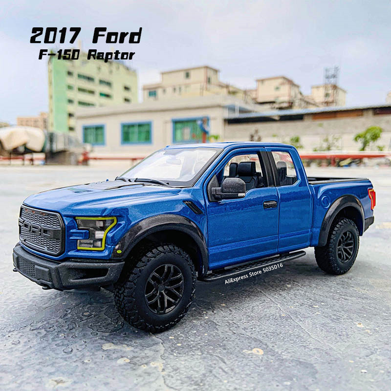Maisto 1:24 20107 Ford Raptor F150 pickup simulation alloy car model crafts decoration collection toy tools gift