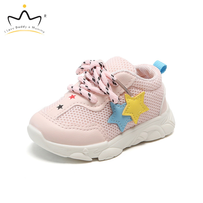 New Baby Shoes Sneakers Soft Cotton Cute Star Print Baby Girl Shoes Newborn Toddler First Walkers Anti-slip Boy Girls Shoes