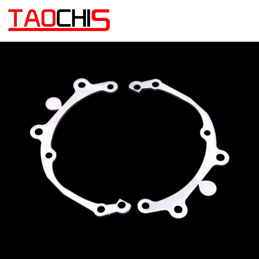 TAOCHIS Car Styling Frame Adapter Hella 3r G5 Projector Lens Retrofit For Toyota Camry V40 2009-2011