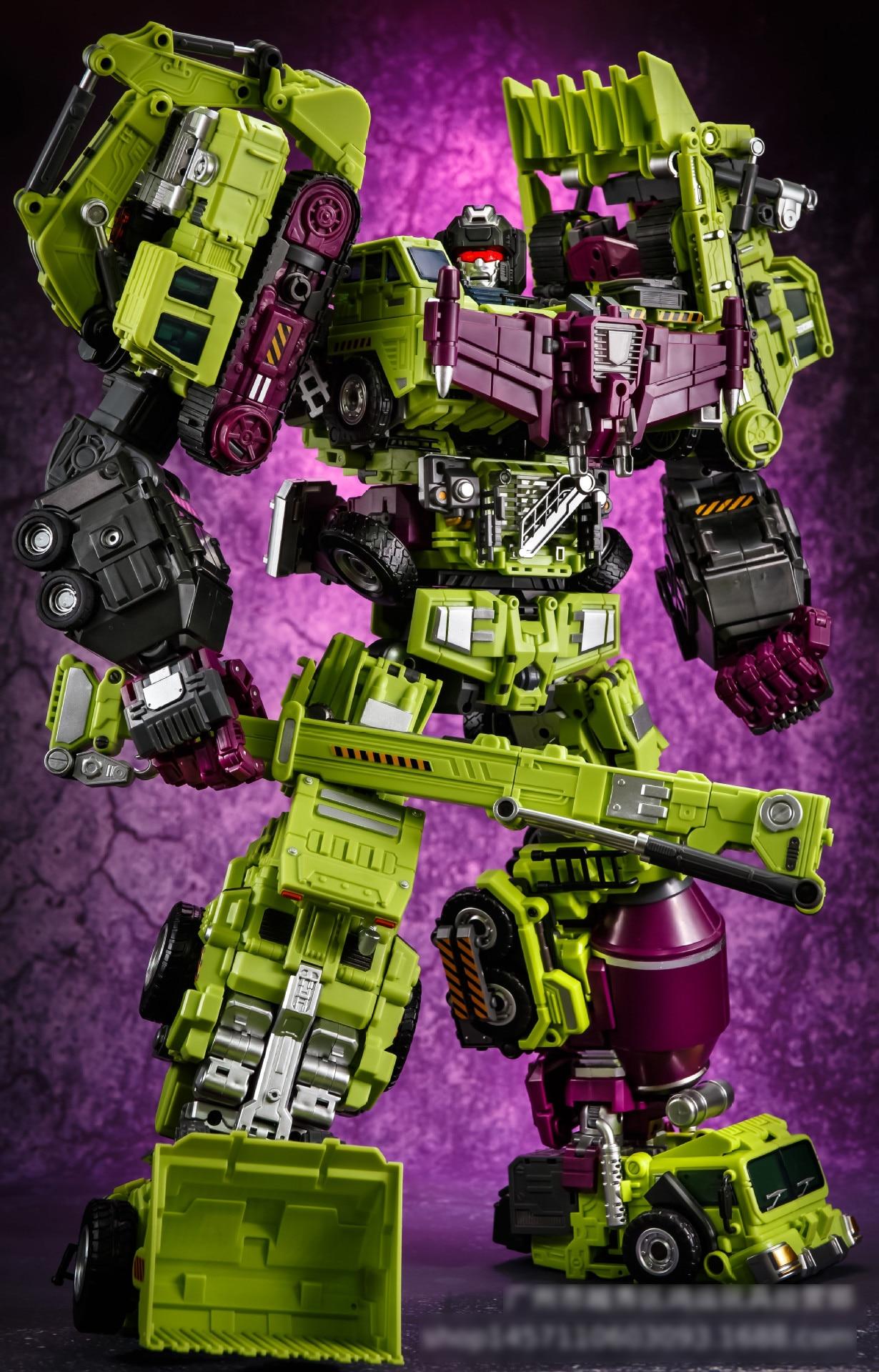 Modèle Transformation Defensor dévastateur Figure dévastateur figure jouet Robot jouets en plastique meilleur cadeau pour l'éducation des enfants