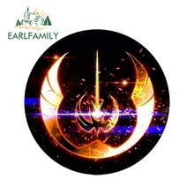 EARLFAMILY 13cm x 3D Car Stickers Star Wars Logo Cool Styling Waterproof Body Bumper Decals Door Decoration Devil Horns