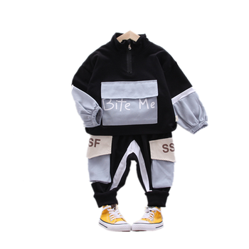 New Spring Autumn Baby Boys Girls Clothes Children Cotton Jacket Pants 2Pcs/Sets Toddler Fashion Clothing Infant Kids Tracksuits children girls clothes kids baseball infant sweatershirt toddler fashion brand jacket new spring autumn baby outwear boys coat
