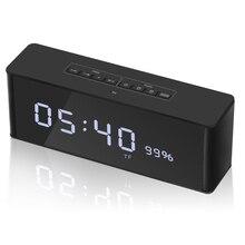 ZAPET динамик портативный Bluetooth динамик беспроводной стерео музыкальный Soundbox с светодиодный дисплей времени будильник громкий динамик
