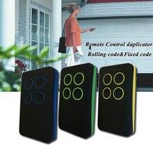 10 pièces porte télécommande Garage télécommande, 868mhz porte contrôle, garage commande, émetteur portable 433mhz télécommande contro duplicateur