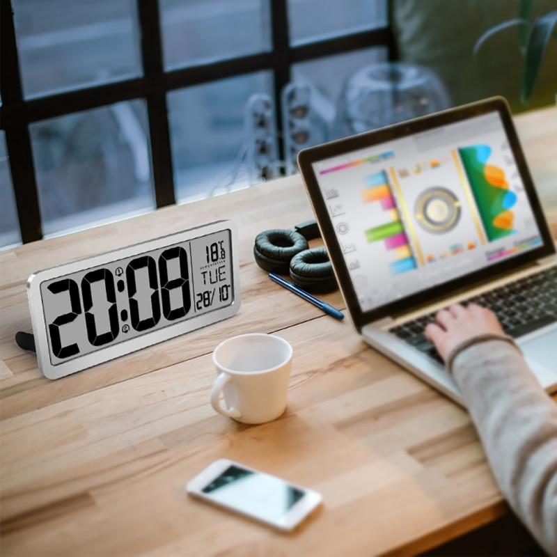 Креативные Часы с созвездием Динамик светодиодный ночной Светильник цифровой Дисплей времени с Bluetooth Динамик часы - 6
