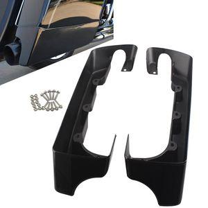"Image 1 - 오토바이 블랙 5 ""할리 1994 Up 일렉트라 스트리트로드 글라이드로드 킹 울트라에 대한 하드 뻗어 안장 가방 확장"