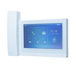 Image 2 - DH logo VTH5221E/EW H moniteur dintérieur tactile de 7 pouces, moniteur de sonnette IP, portable, moniteur dinterphone vidéo, version du micrologiciel SIP