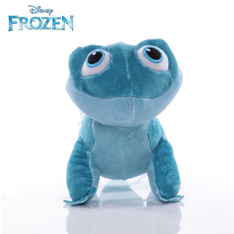 Dsiney Frozen 2 Bruni Plush Cute Toy 17cm/27cm Doll Model PP Cotton Colleaction Action Figure New Year Christmas Gift For Kids
