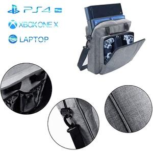 Image 5 - NEW Handbag for PS4/PS4 PRO slim Original size Protect Shoulder Carry Canvas Case for PlayStation 4 Consol Multifunction Bag