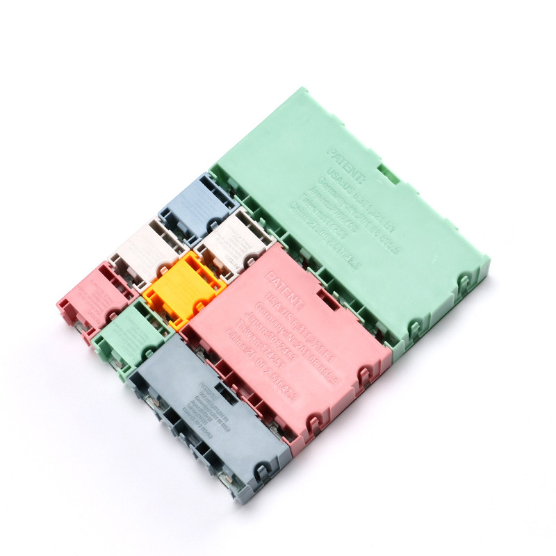 1 set=9 pcs SMD SMT IC Electronic Component Mini Storage Box and Practical Jewelry Storaged Case Assorted Kit (2)