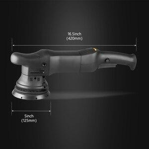 Image 3 - SPTA 5 인치 750W 듀얼 액션 폴리 셔 궤도 15mm 자동 폴리 셔 다 자동차 폴리 셔 홈 DIY 폴리 셔 왁싱 연마 패드 세트