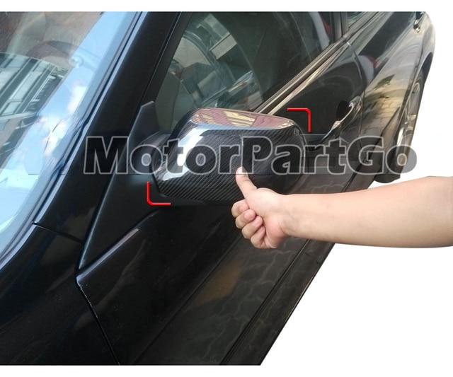 Real Crabon Fiber Mirror Cover Exchange original 1 pair for  Old Mazda 6  M6 2003-2012  T244M 6