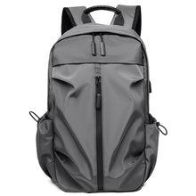 Carregamento usb 15.6 Polegada portátil mochila homens à moda saco de escola pacote para adolescentes faculdade mochilas viagem à prova dwaterproof água sacos casuais