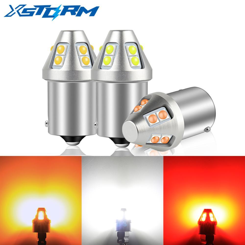 1Pc T20 Led 7440 7443 W21W W21/5W 1156 BA15S P21W LED Bulb BAU15S PY21W 1157 BAY15D P21/5W T25 P27/7W Car Turn Signal Light Lamp