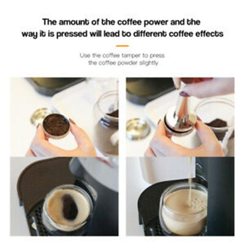 Galleria fotografica Riutilizzabile Capsule di Caffè Set Cucchiaio Pennello Non-Bevande Alcoliche per Nespresso E Vertuoline E <font><b>Delonghi</b></font> ENV135 Cucina Sala Bar