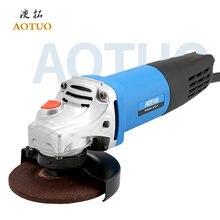 Aotuo электрическая угловая шлифовальная машина 900 Вт дрель