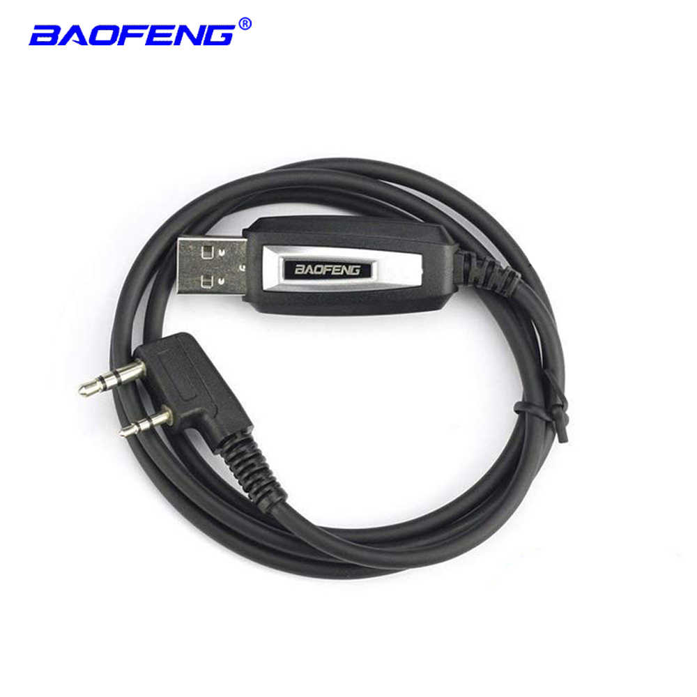 Baofeng USB programming cable for two way radio UV-5R UV-6R UV-82HP UV-S9 GT-3TP BF-888S RT-5R walkie talkie USB program cable