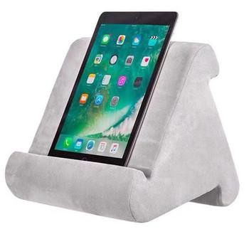 Multi-Angle Soft Pillow Pad Pillow Lap Stand for iPads Smartphones Tablets eReaders Books Magazines Support 7 Colors Available tanie i dobre opinie CN (pochodzenie) Dekoracyjne BODY Podróży Pościel Patchwork Stałe quality Wklęsła 0-0 5 kg Other TO60I